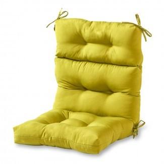 Greendale Home Fashions Cojín para silla con respaldo alto para ...