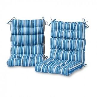 Greendale Home Fashions Coastal Stripe Exterior con respaldo alto ...