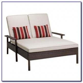 Cojín de lounge chaise doble patio - Patios: Hogar ...