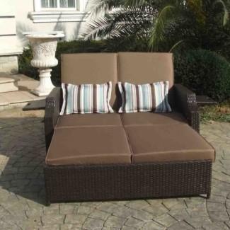 Cojín de salón doble chaise | Chaise Design