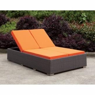Cojín doble chaise lounge | Chaise Design