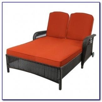 Cojín de salón doble chaise lounge - Patios: Hogar ...