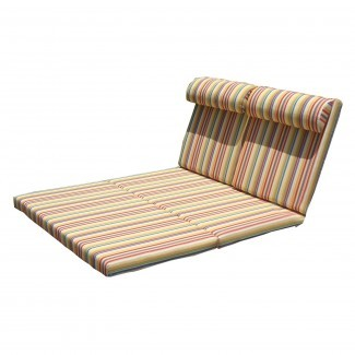 Mejor Redwood Chaise Lounge Cushion Double en Hayneedle