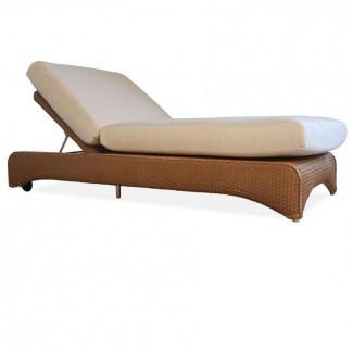 Lloyd Flanders Wicker Double Pool Chaise Lounge ...