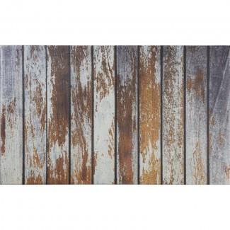 Driftwood Planks Memory Foam Anti-Fatigue Mat