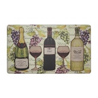 Chef Gear - Cata de vinos, antifatiga, Premium Memory Foam Kitchen Chef Mat, 18 x 30