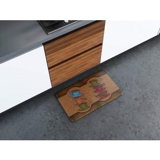 Alfombrilla de cocina de espuma de memoria reversible Art3d Premium ...