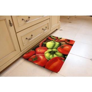 Kitchen Works Memory Foam Anti- Alfombra de cocina Fatiga Comfort ...