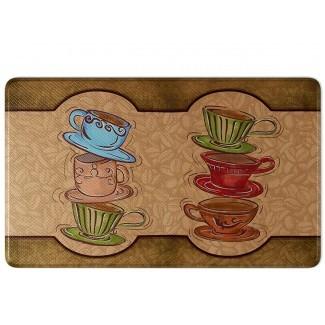 Alfombra de cocina Art3d Premium reversible de espuma de memoria Anti ...
