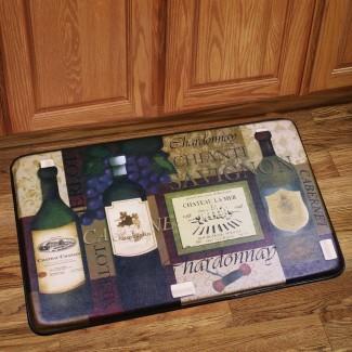 Alfombra de espuma con memoria antifatiga Chef Design Alfombrilla de cocina [19659011] Alfombra antideslizante de espuma de memoria Chef Design Kitchen Floor ... </div> </p></div> <div class=