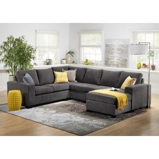 Muebles: cómodo sofá seccional para una vida elegante ...