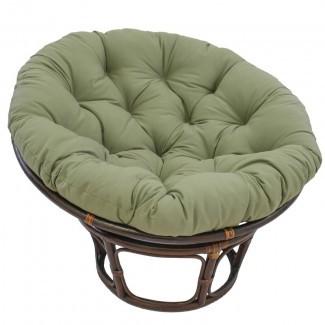 Cojín de sillón lounge interior Papasan