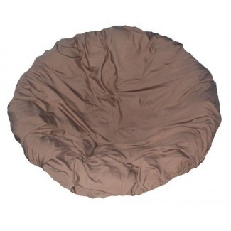 Funda de cojín Papasan marrón