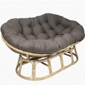 Silla: cojines casuales y cómodos de la silla Papasan ...