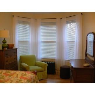 15 Colección de cortinas opacas Ventana de la bahía | Ideas para cortinas