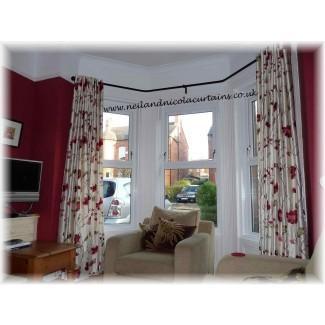 Poste de cortina de ventana de arco | BreakPR