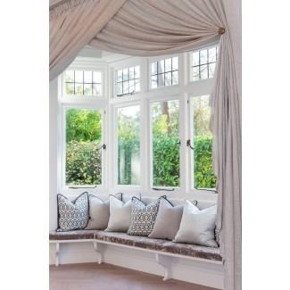 Cómo elegir la mejor Cortinas de la ventana de la bahía | Decoración
