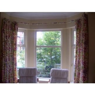 Cortinas de ventana de Bahía de cocina - Ideas de decoración Ideas de decoración