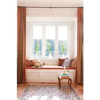 Cómo elegir las mejores cortinas de ventana salediza | Decoración