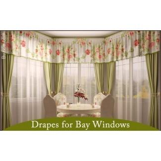 Variedades de cortinas de la ventana de la bahía que son Simplemente fascinante