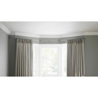 Postes de cortina de ventana Neo Bay | Cortinas de ojales pesados 