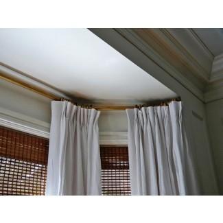 Cómo medir barras de cortina para barras de ventana corrediza