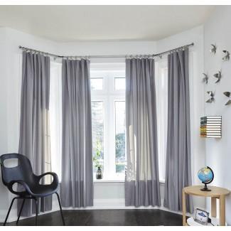 Barra de cortina de ventana corrediza en barras y herrajes para cortinas