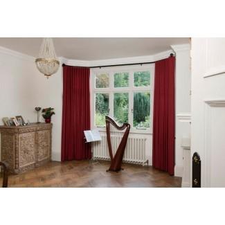Barras de cortina perfectas para ventanales | HomesFeed