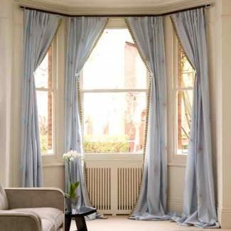 Ir por cortinas elegantes | 9 ideas creativas de decoración para