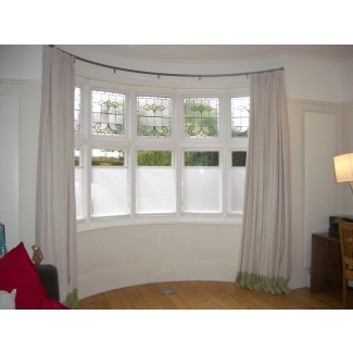 Barras de cortina para ventanales | HomesFeed