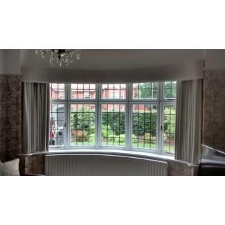 cortinas de ventana de bahía