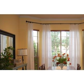 Cómo medir barras de cortina para barras de ventana panorámica