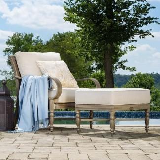 Grupo de asientos de silla de patio Saylor con cojín
