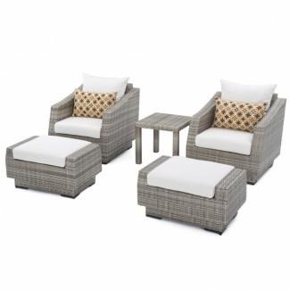 25 Lo mejor de silla y otomana para exteriores