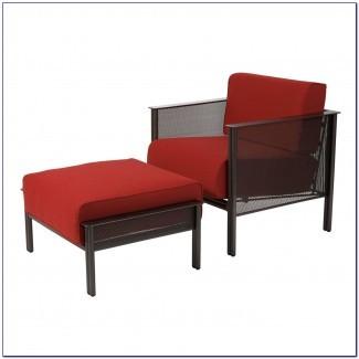 Silla para exteriores con otomana Silla reclinable para exteriores con ...