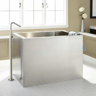 Tina de baño de estilo japonés - Diseños de bañera