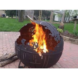 Impresionante Star Wars Death Star Steel Fire Pit   Gadgetsin