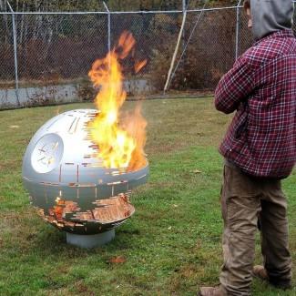 Death Star II Fire Pit - The Green Head