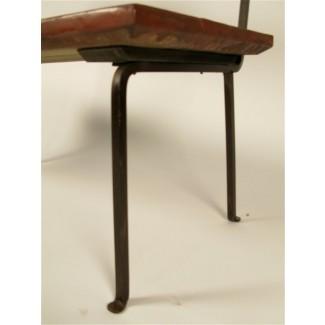 Juego de mesa y banco de exterior de madera y hierro-Muy pesado en [19659012] Juego de mesa y banco de exterior de madera y hierro: muy pesado en ... </div> </p></div> <div class=