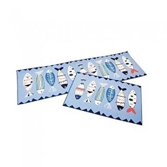 2 piezas / juego Alfombrillas de baño Juego Alfombra de baño Cocina Alfombra antideslizante Alfombrilla de baño Productos para el hogar Accesorios para el hogar Productos Stuff- Teal Decoración de baño- Alfombras de baño Memory Foam