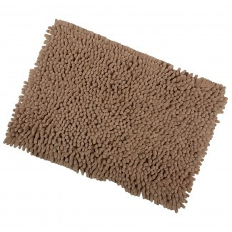 Alfombra de baño de microfibra Shaggy Baño Alfombra antideslizante .. .