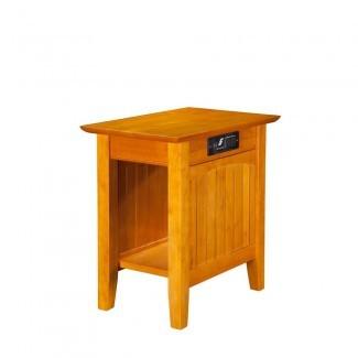 Mesa auxiliar de muebles Nantucket Candy de Atlantic Furniture con ...
