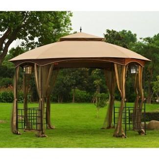 Gazebo Canopy Patio Mosquitera para exteriores Shade Pergola ...