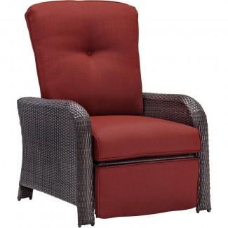 Ashton - Silla reclinable de lujo con cojines