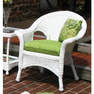 Cojín de silla de mimbre de tela Sunbrella