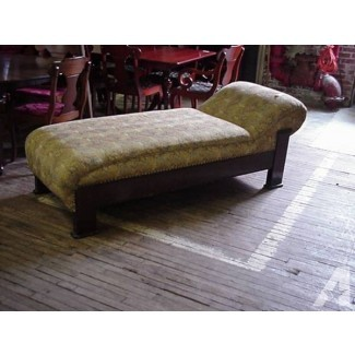 Sofá desmayo de roble de principios de 1900 - para la venta en Kindts