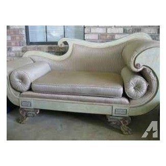 SOUCHING COUCH / VICTORIAN - (4041 ADAMS RD. PACE, FL)