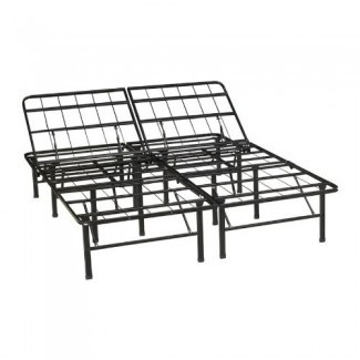 Marcas clásicas Marco de cama de metal de servicio pesado ajustable ...