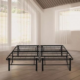 "Rest Rite 14 "". Queen Metal Platform Bed Frame ..."