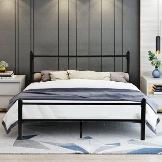 Estructura de cama de plataforma resistente GreenForest (tamaño Queen) Revisión ...